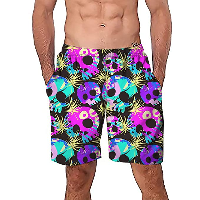 2019 Fashion Men Patchwork Beach Shorts Casual Swimwear For Men Sexy Board Shorts Holiday Swimsuit Mens Swimming Briefs Shorts Men's Clothing