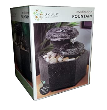 Amazon.Com: Order Home Collection Meditation Fountain: Home & Kitchen