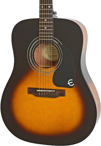 Epiphone PRO-1 Guitarra Acústica Vintage Sunburst: Amazon.es ...