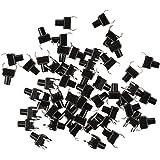 SODIAL(R) 50 Pcs Piece electronique momentanee Contact Micro-interrupteur