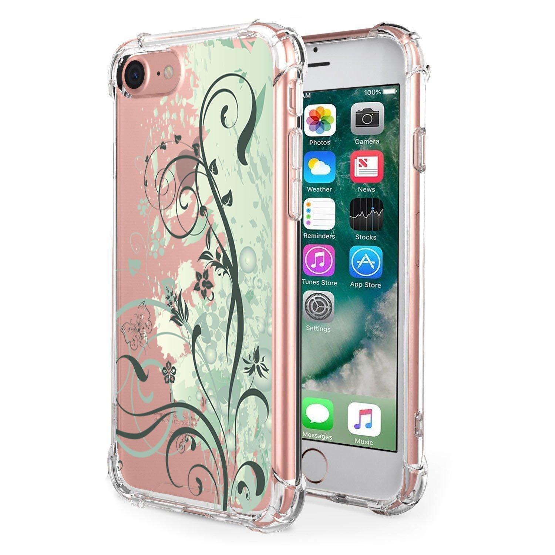 0e80fc92a3b Funda iPhone 7/8 Funda Silicona TPU para iPhone 7/8 Carcasa Transparente  Soft