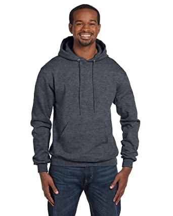 682ae209830f Champion Men s Double Dry Action Fleece Pullover Hood Charcoal Heather 3XL