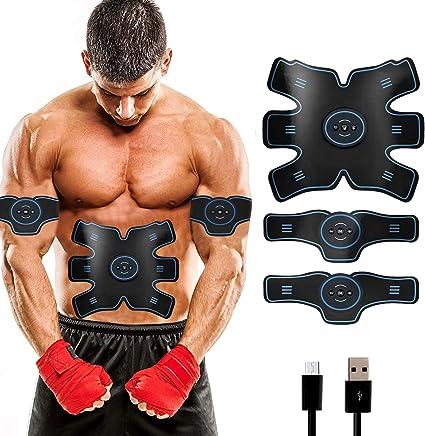 Muskel Training Fernbedienung Bauchmuskeltrainer Smart Body Building Fitness ABS