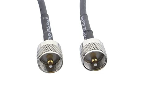 MPD Digital RG58-PL259-PL-259-male-10FT RG58 Coaxial Cable