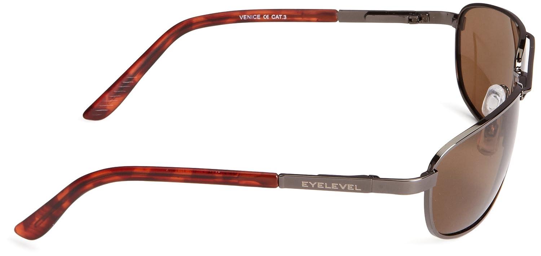 Eyelevel Venice - Gafas de sol polarizadas para hombre, color gris/marrón, talla única: Amazon.es: Ropa y accesorios