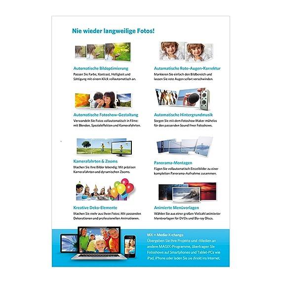 MAGIX Fotos auf DVD easy (Jubiläumsaktion inkl. Foto Manager MX ...