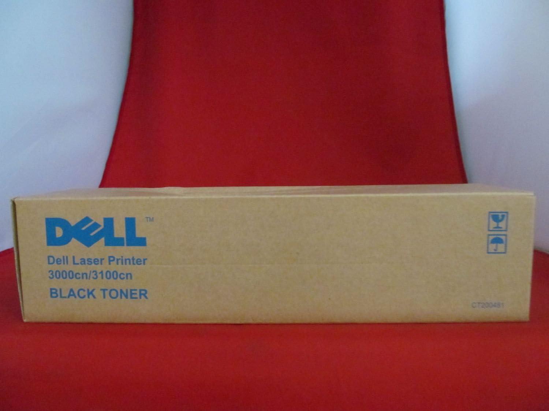 Dell 3100CN Black Toner (4000 Yield) (Orginal OEM# 310-5726) - Geniune Orginal OEM toner