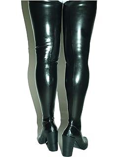 Hosen Stiefel Handmade Lack pu high Heel 14cm Platform 2cm
