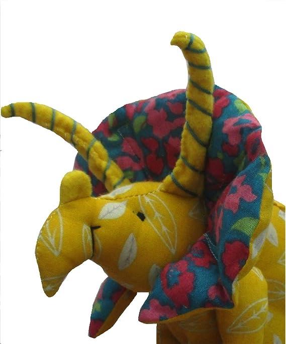 Triceratops aus weichem Stoff Spielzeug Dinosaurier Schnittmuster ...