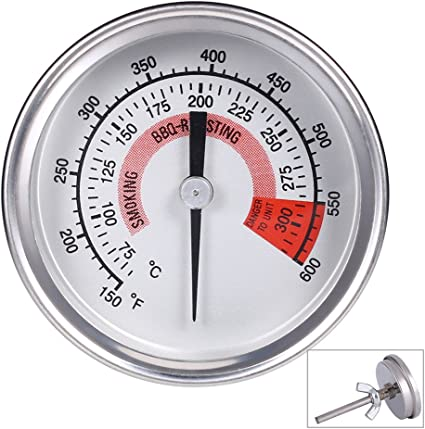 Onlyfire Professional Bbq Charcoal Smoker Gas Grill Oven Char Grillers 52mm Thermometer Temperature Gauge Mimbarschool Com Ng