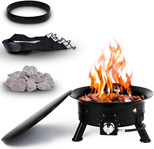 Project One Portable Outdoor Propane Fire Pit