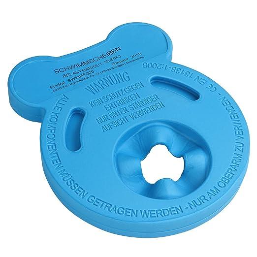 Infantastic - Flotadores de natación para niños de material espumoso - set de 6 discos - varios colores: Amazon.es: Juguetes y juegos