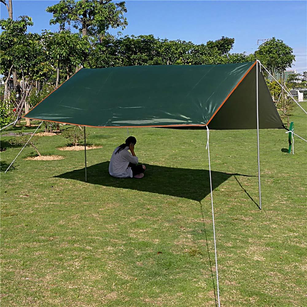 Desconocido 3 m x 3 m Ultraligero UV Playa Sol Refugio Lona Impermeable Tienda de campa/ña toldo jard/ín toldo toldo Parasol al Aire Libre Camping Hamaca Lluvia Fly