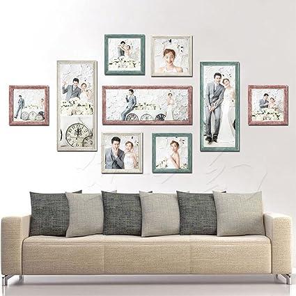 . Amazon com   Fly Creative American Living Room Photo Wall Bedroom