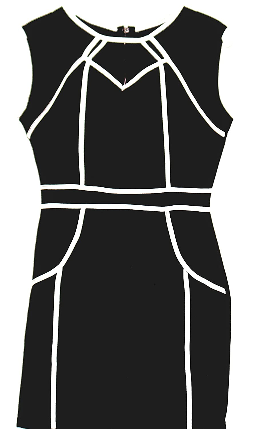 O'Mine Sleeveless Petite Black Party and Cocktail Dress