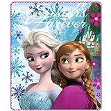 Plaid Polaire Disney Frozen reine des neiges 120x140