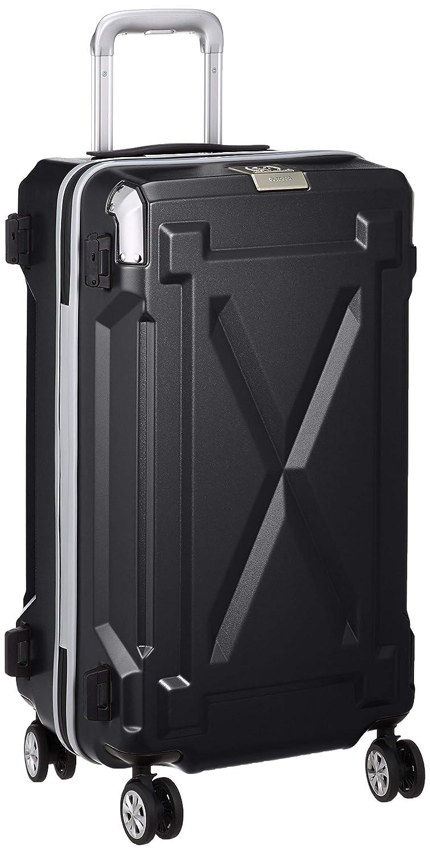 [レジェンドウォーカー] スーツケース 防水キャリー 不可 保証付 56L 61 cm 3.6kg B07KGQK5TY ブラック