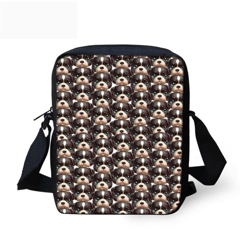 Coloranimal Stylish Animal Puzzle Small Messenger Cross-body Bags