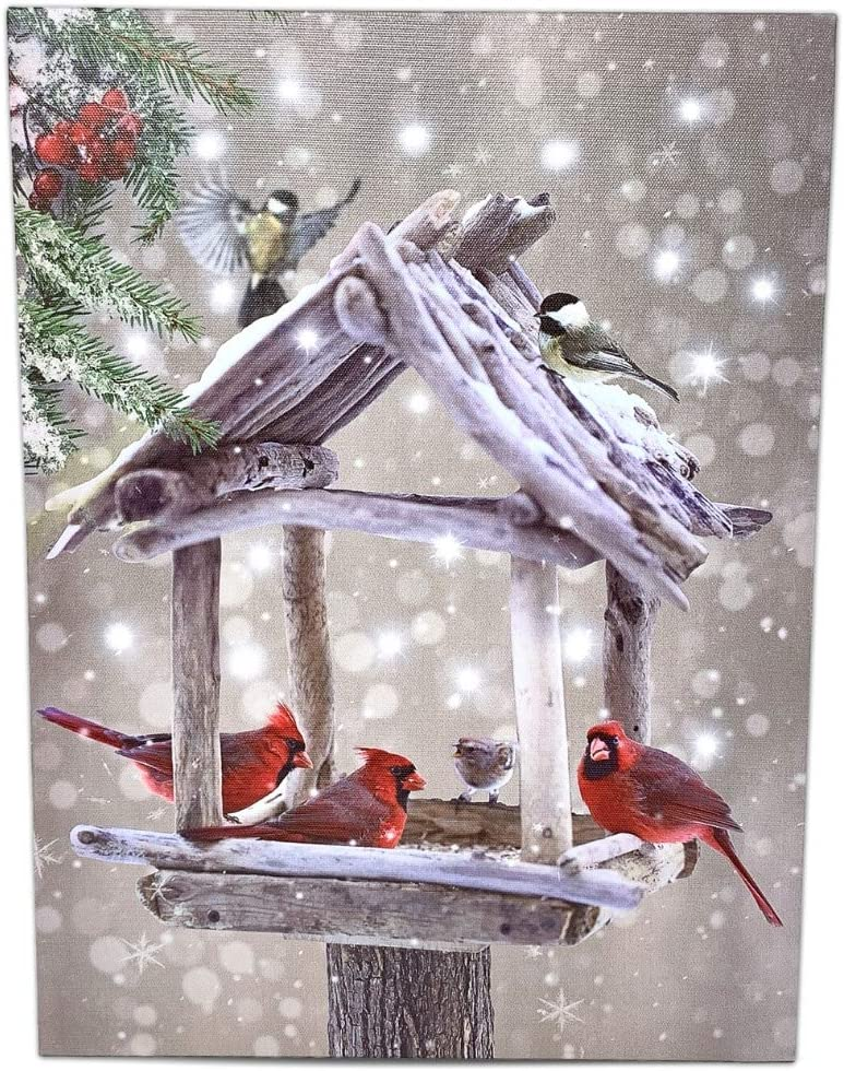 4x6 5x7 inch bird nature art cardinal watercolor print northern red cardinals winter birds art 10.1 x 15.24 cm