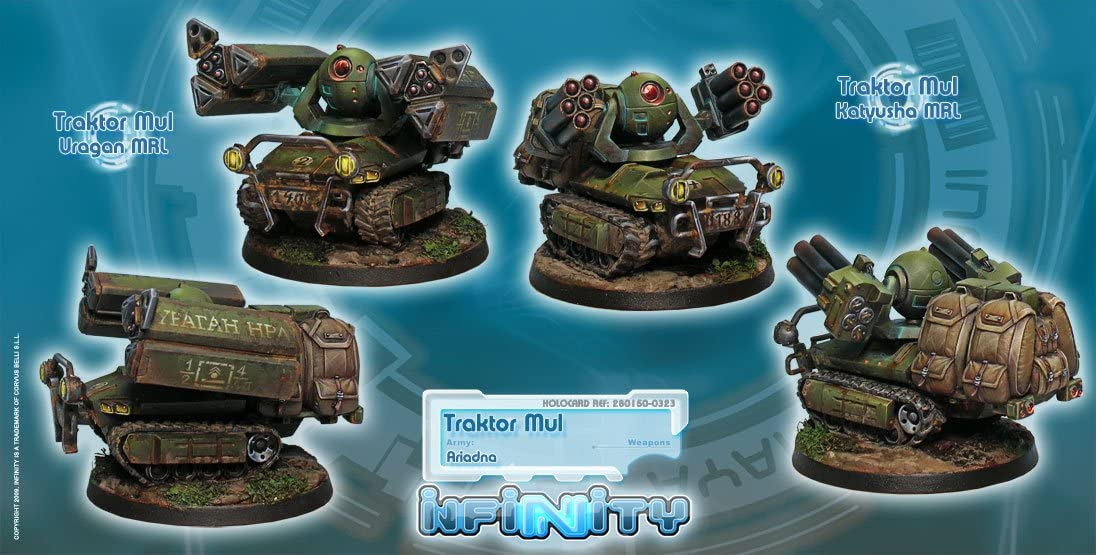 Infinity: Ariadna - Traktor Mul: Amazon.es: Juguetes y juegos