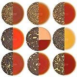 VAHDAM, Chai Tea Sampler - 10 TEAS, 50 Servings | 100% NATURAL SPICES | India's Original Masala Chai Teas | Brew Hot, Iced or Chai Latte | Tea Variety Pack & Tea Gift Set - Chai Tea Loose Leaf, 3.53oz