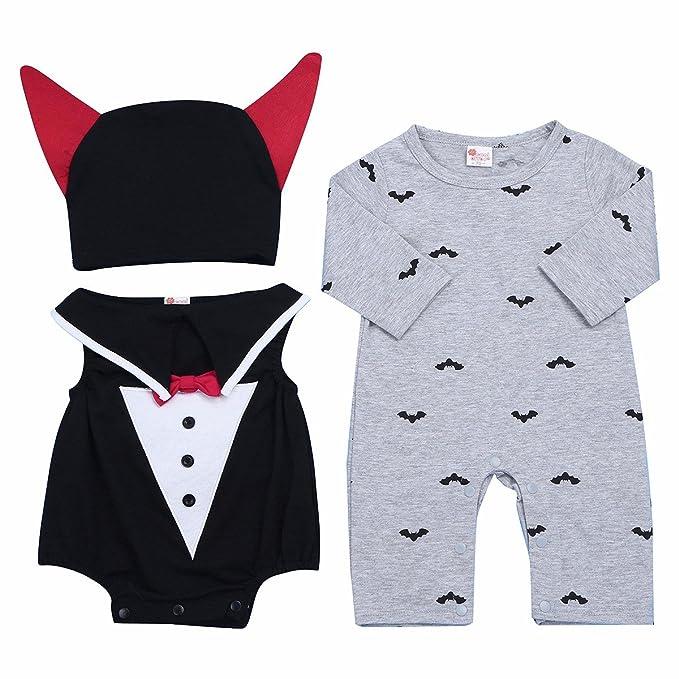 FEESHOW Halloween bebe ropa pelele Mono Traje Infantil ...