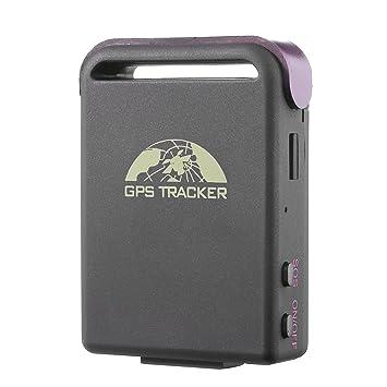 TK102B Mini GPS GSM GPRS Tiempo Real Rastreador Tracker Seguimiento Localizador de Vehículos, La Seguridad Personal ...