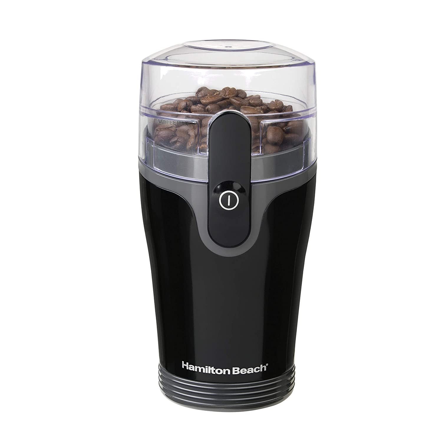 Hamilton Beach Fresh Grind 4.5oz Electric Coffee Grinder for Beans, Spices and More, Stainless Steel Blades, Black 80335R