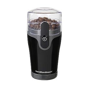 Hamilton Beach Fresh Grind Coffee Grinder (80335R), 1 Black