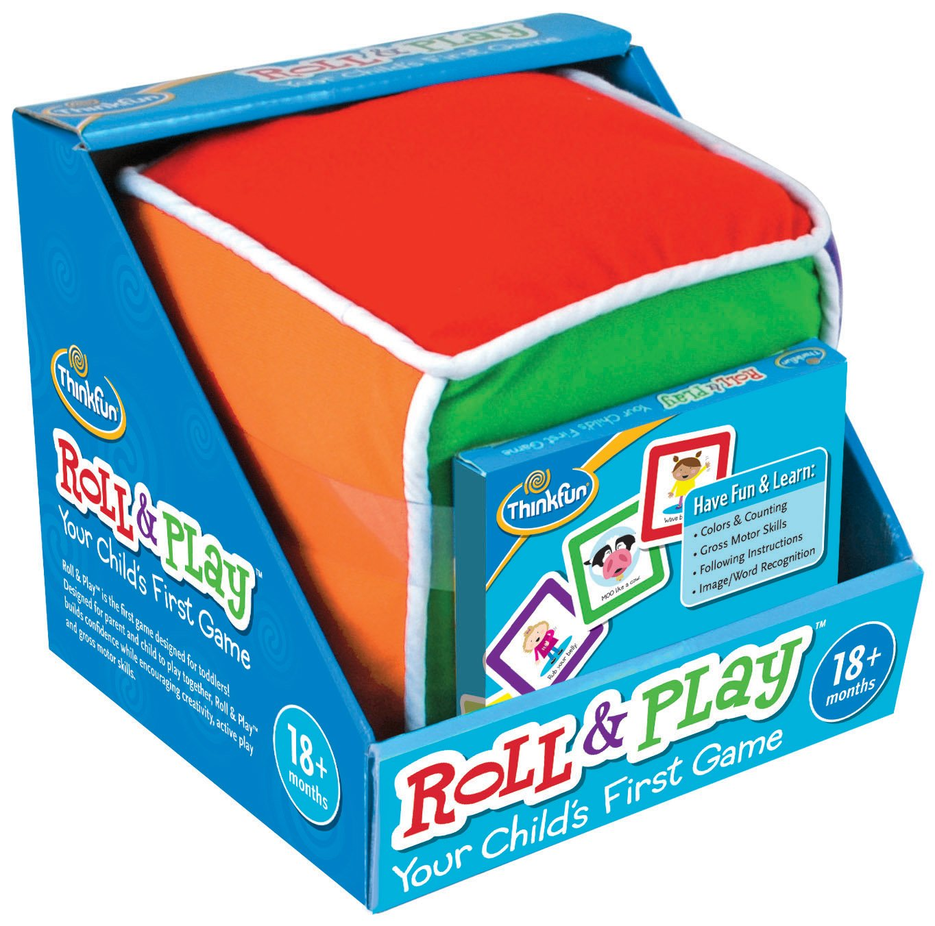 Amazon.com: Think Fun Roll and Play Game for Toddlers - Your Child\'s ...
