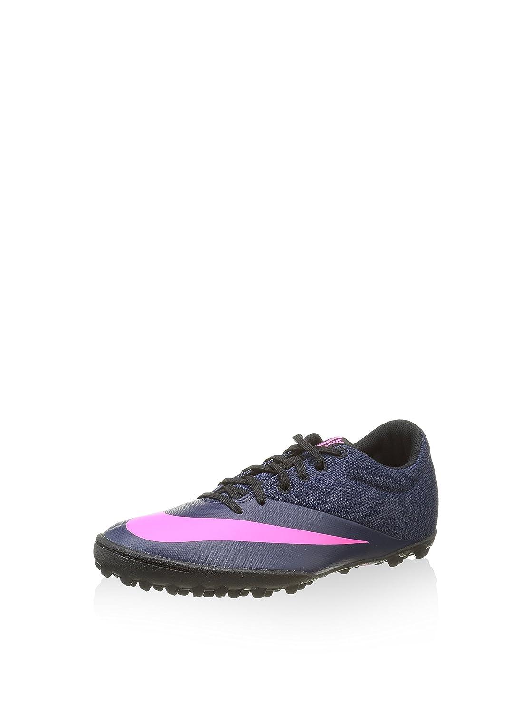 Nike Herren MercurialX Pro TF Fuszlig;ballschuhe  42.5 EU|Azul (Azul Marino (Mid Nvy/Mid Nvy-pnk Blst-rcr B))