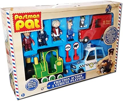 Postman Pat Vehicle and People Set!