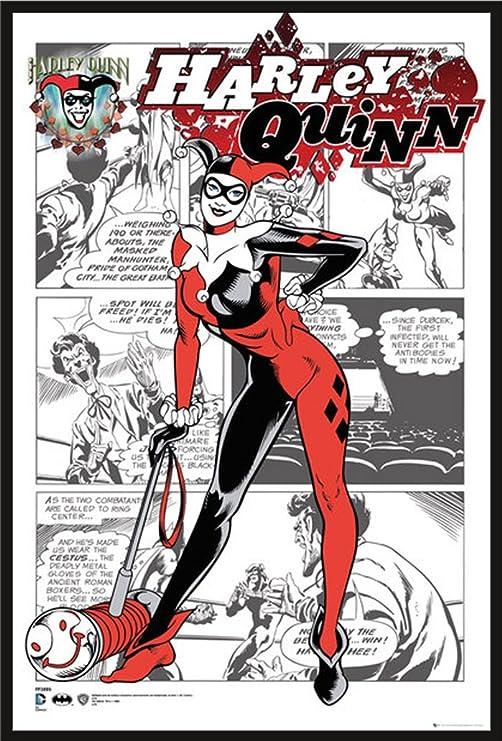 DC Comics – Póster de Harley Quinn Comic + Artículo adicional ...