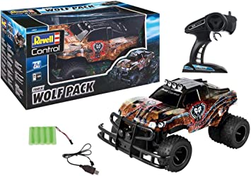 Revell-Pickup Wolf Pack Juguetes a Control Remoto, Multicolor (24533): Amazon.es: Juguetes y juegos