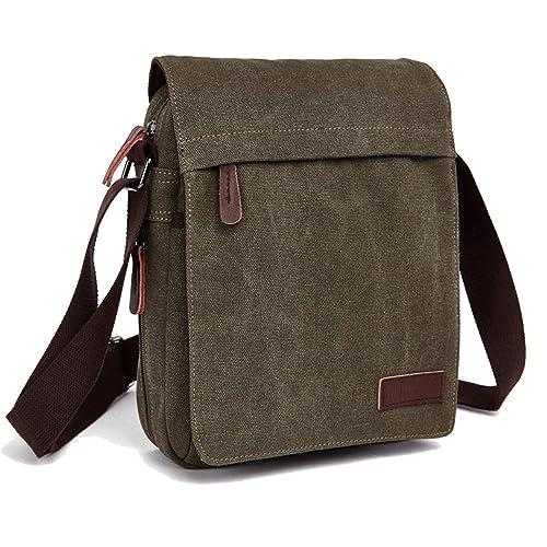 e944a568f031 ENKNIGHT Nylon Crossbody Purse Bag for Women Travel Shoulder handbags (Navy  green)