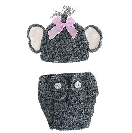 NEWBORN ELEPHANT HAT … FREE CROCHET PATTERN – Thoughts, Knots ... | 428x425