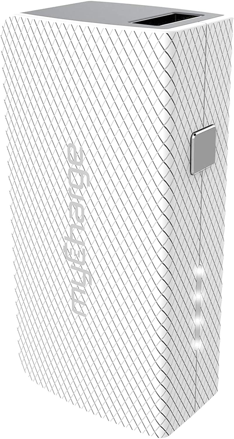 myCharge AmpMini 2000mAh Portable Charger with Built-In USB Cable