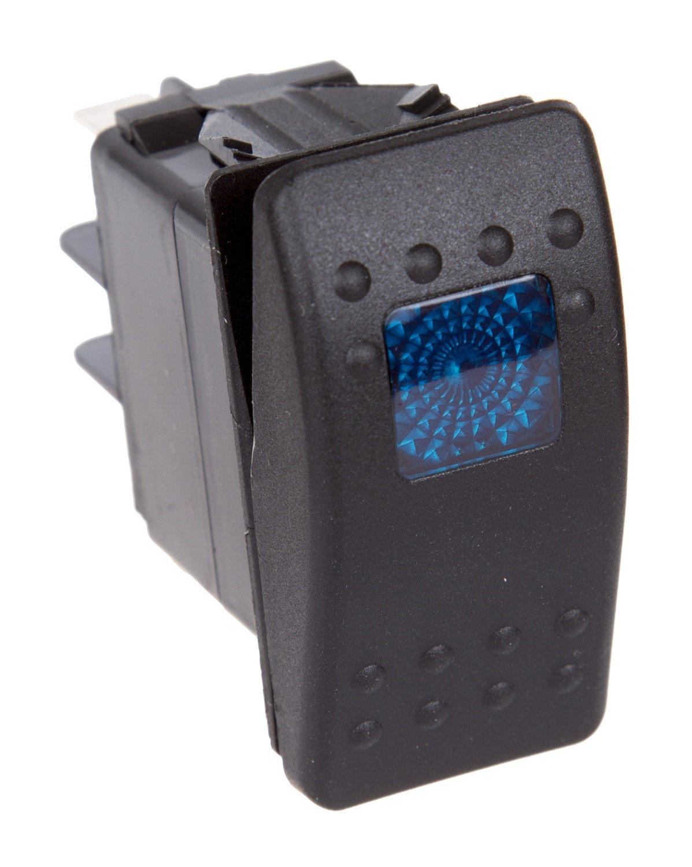 Daystar KU80011 20 Amp Blue Light Rocker Switch Kit ...