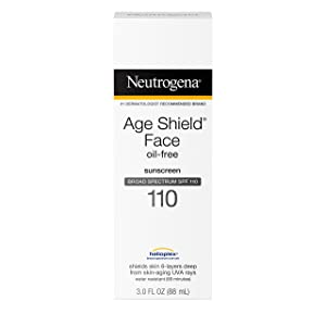 Neutrogena Age Shield Face, Sunscreen Lotion, SPF 110 3 oz (Pack of 5)