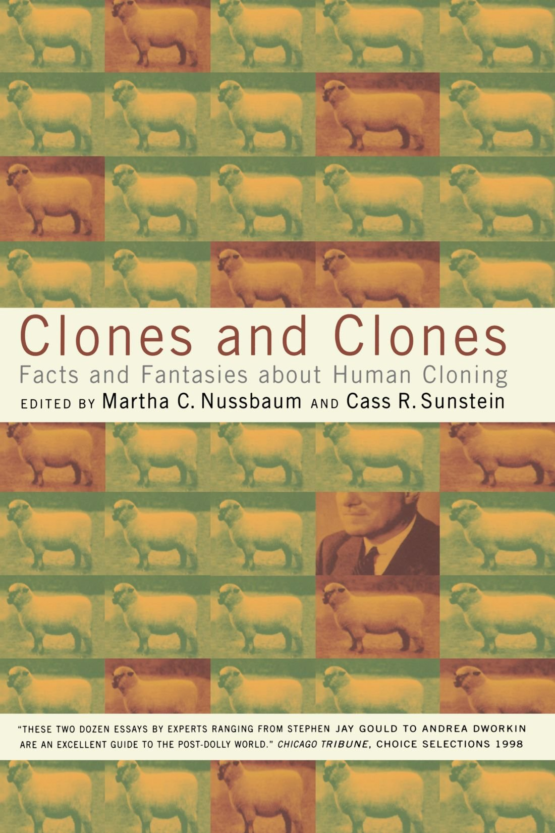 clones and clones facts and fantasies about human cloning amazon  clones and clones facts and fantasies about human cloning amazon co uk martha c nussbaum cass r sunstein 9780393320015 books