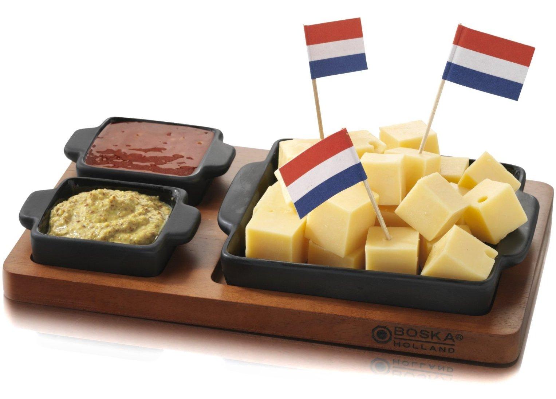 Boska Holland Tapas Cheese Cups, Black