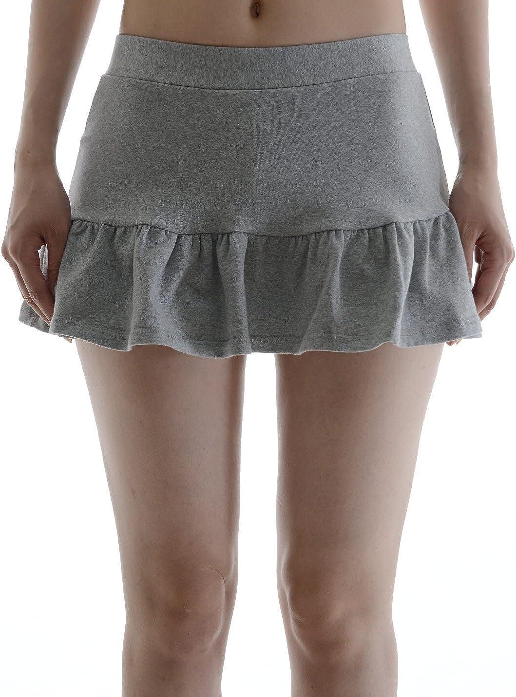 Hi Korean Fashion de la mujer (cintura algodón Mini Skorts faldas ...