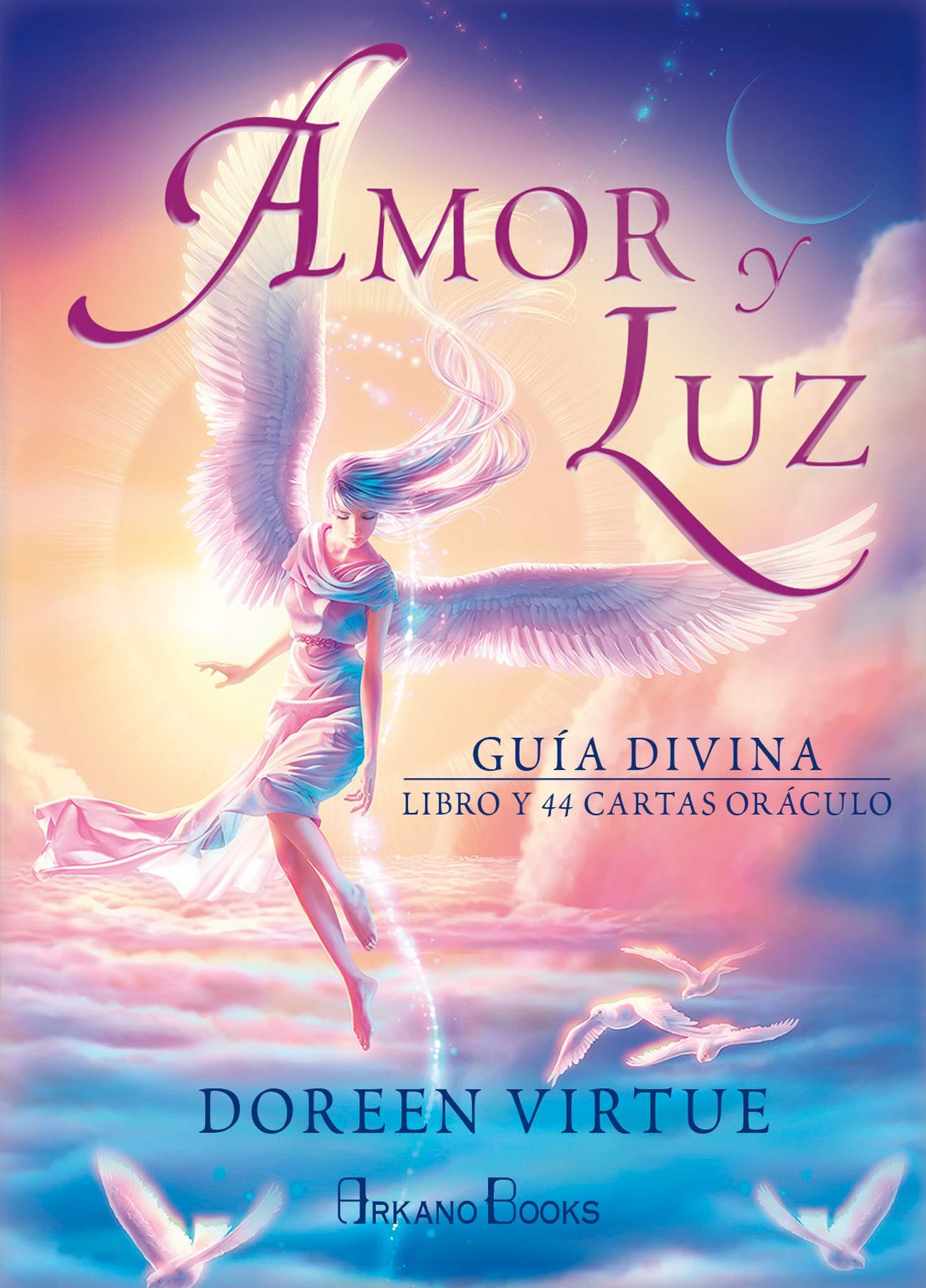 Amor y Luz. Guía divina. Libro y 44 cartas oráculo: Amazon ...