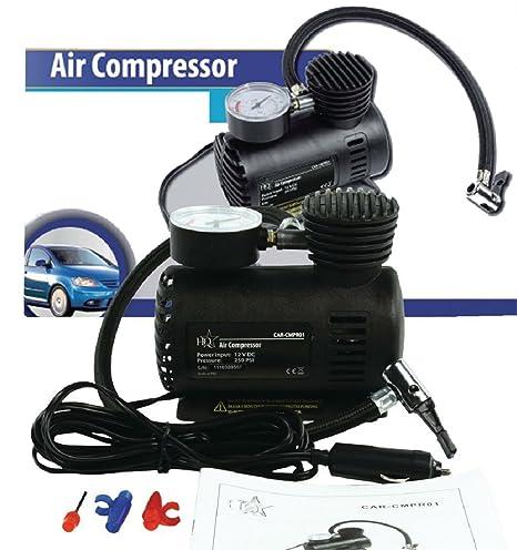 Eurosell – Profesional Mini Auto/Roller coche Impresión Compresor De Aire 12 V para encendedor