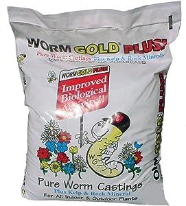 Worm Gold Plus 8010 Pure Worm Castings, 8-Quart