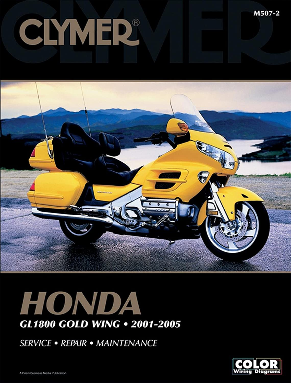 Clymer Honda GL1800 Gold Wing 2001-2010 Motorcycle Repair Manual//Guide