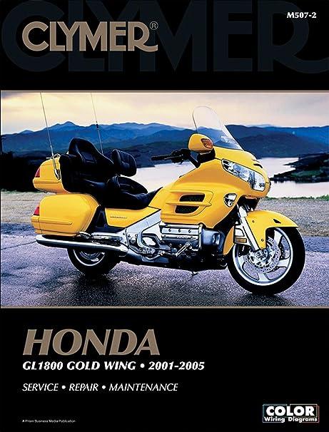 amazon com clymer honda gl1800 gold wing 2001 2010 motorcycle rh amazon com 1992 Honda Goldwing 1999 Honda Goldwing