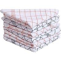 Akin Towel 100% Cotton Premium Kitchen Napkins Set Of 6 (Length = 46 Cm, Width = 46 Cm)