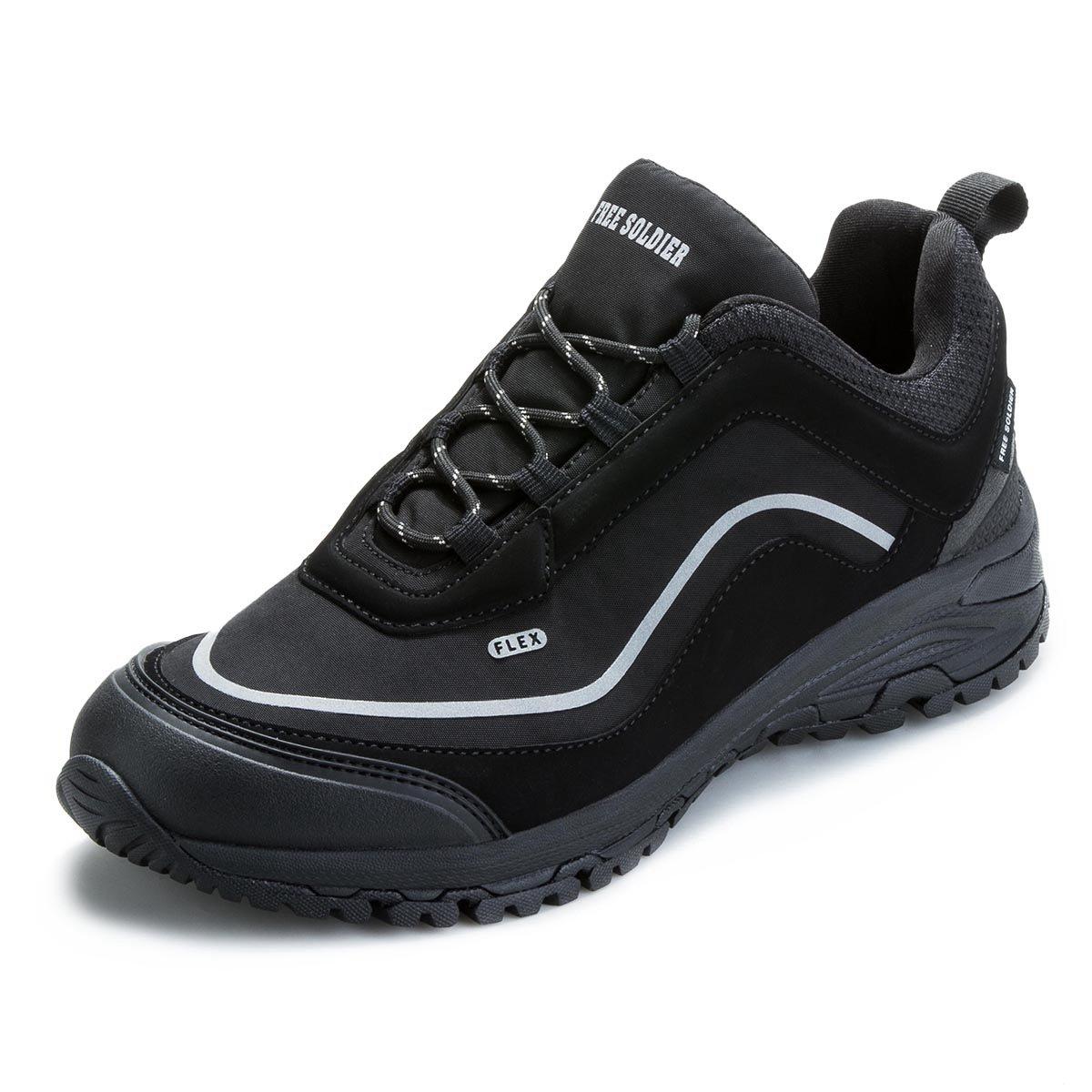 FREE SOLDIER Herren Wanderschuhe Bergwanderschuhe Taktische Militär Wasserabweisende Schuhe