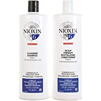 Nioxin System 6 Duo Pack, Cleanser 1L and Scalp Therapy Revitalising Conditioner 1L